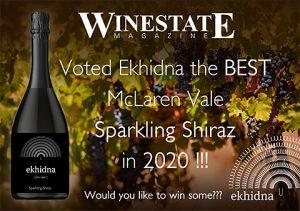 Winestate Magazine Best McLaren Vale Sparkling Shiraz