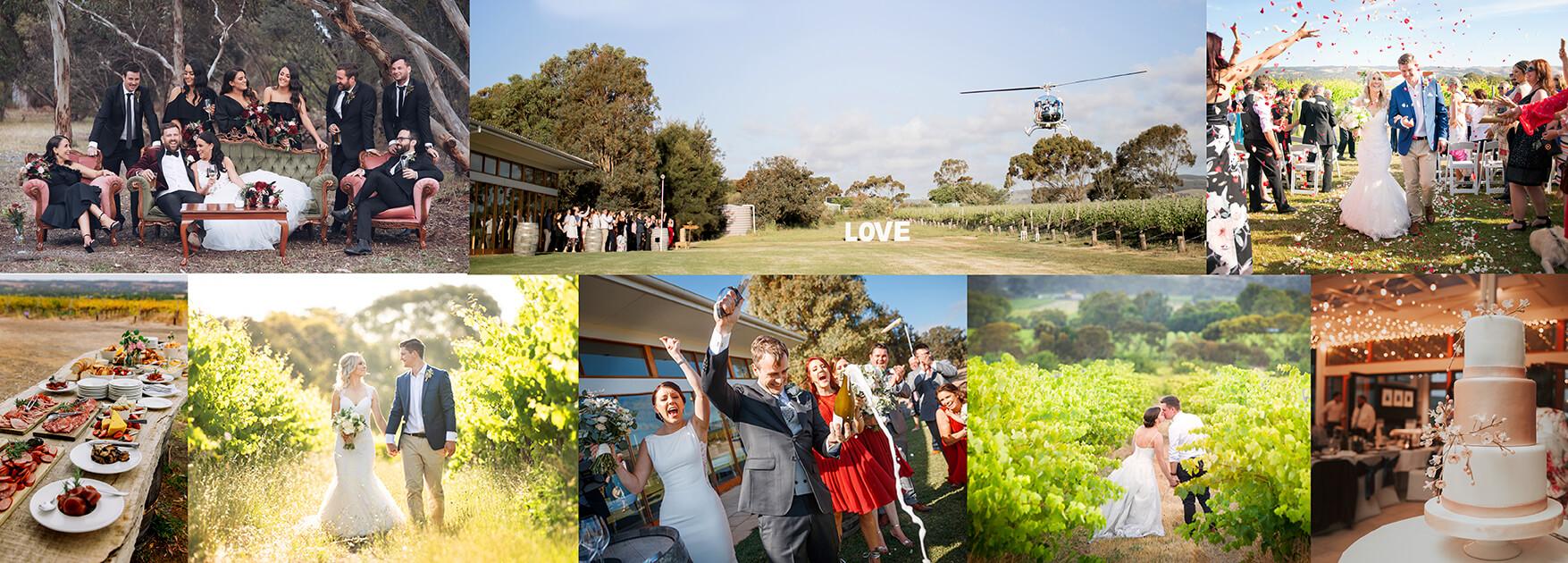McLaren Vale Wedding Venue - Ekhidna Wines